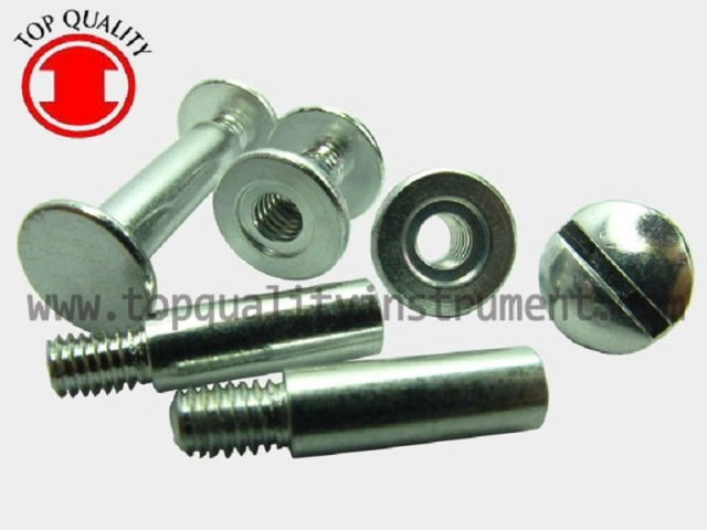 ALUMINUM BINDING POST SCREWS-tq